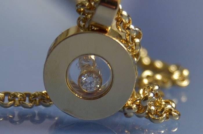 Collier et pendentif diamants Chopard