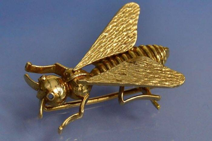 Broche insecte Boucheron