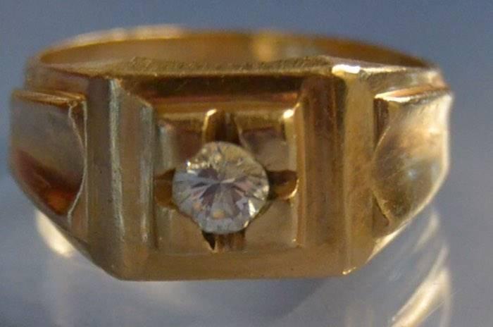 Bague 1950 diamant