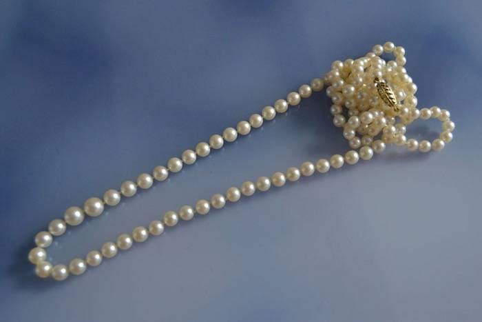 sautoir d'occasion perles de culture