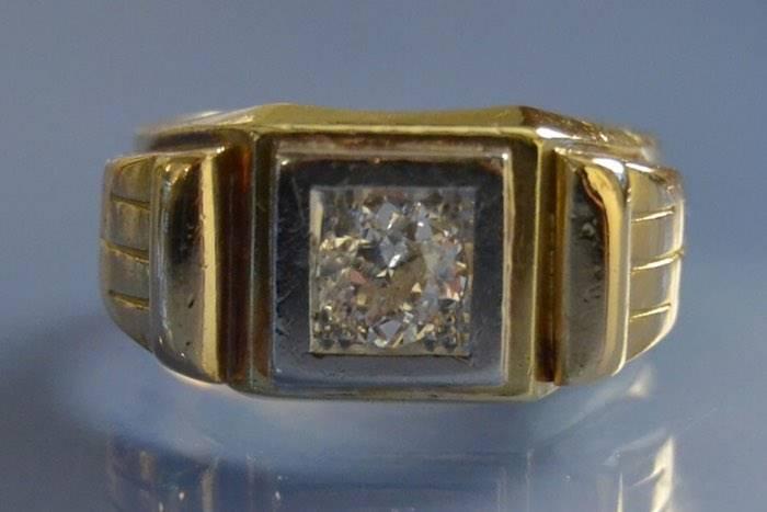 Bague ancienne diamant