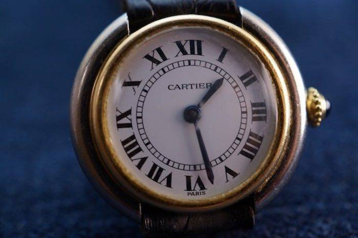 Montre Cartier Elipse