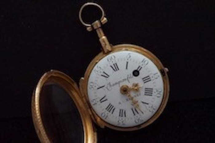 Montre gousset en or du XIXème