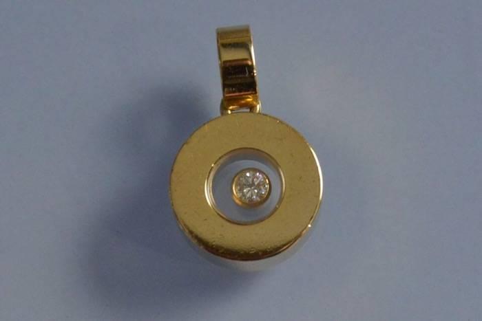 Pendentif diamant signé Chopard