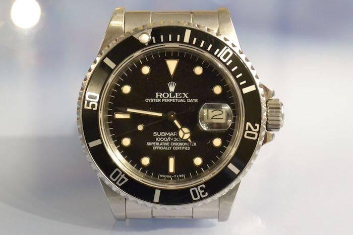 Montre Rolex oyster Submariner