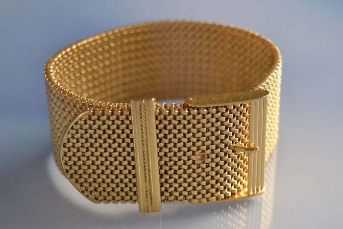 Bracelet ceinture années 50