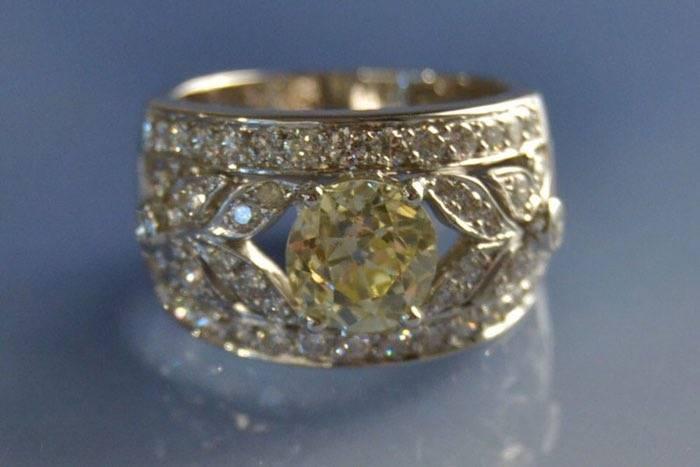 Bague d'occasion diamants