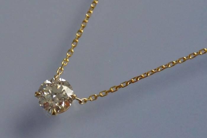 Collier diamant brillant