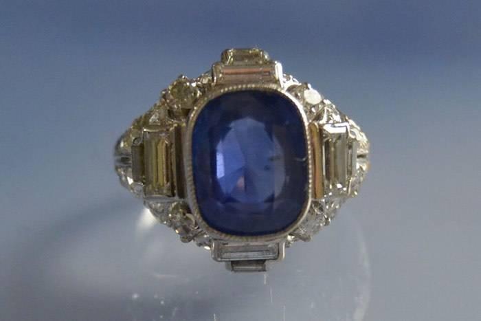 Bague ancienne d'occasion diamants