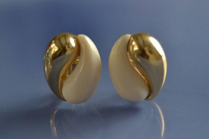 Boucles d'oreilles Ying Yang Cheng