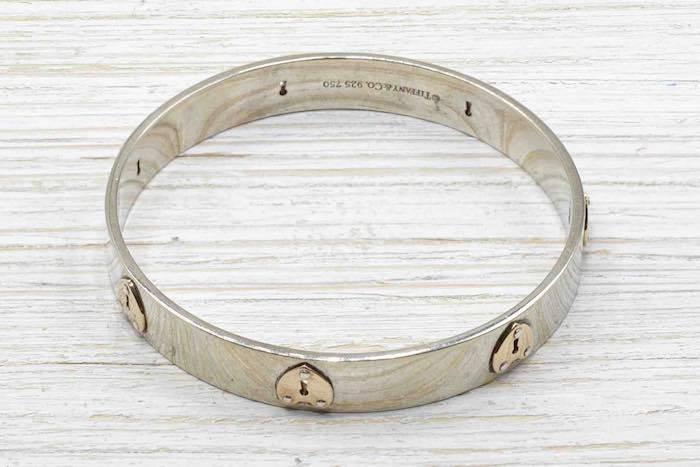 Bracelet jonc signé Tiffany & Co