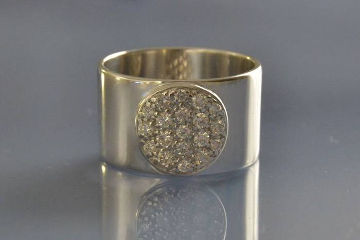 Bague diamants Dinh Van modèle Anthéa