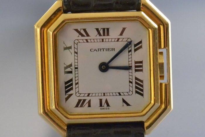 Montre Dame ''Ceinture'' signée Cartier