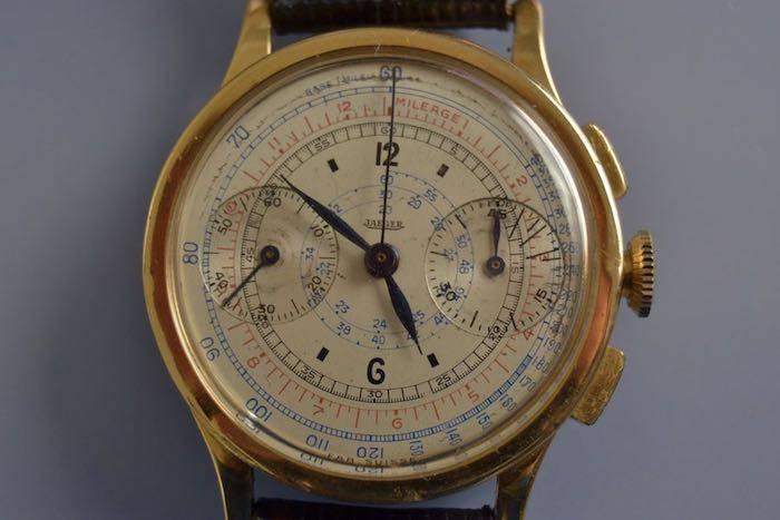 Montre ancienne chronomètre signée Jeager
