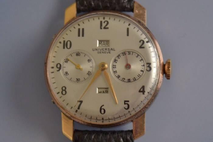Montre ancienne Chronométre signée Universal Genève