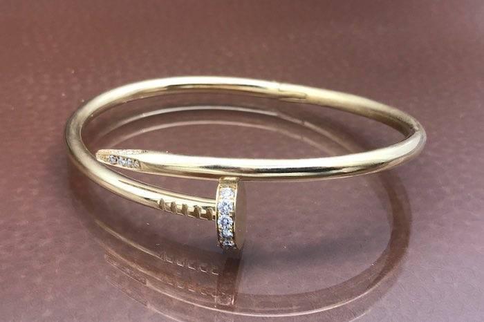 Bracelet diamants en or 18k
