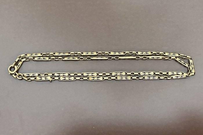 Collier Art Nouveau en or 18k