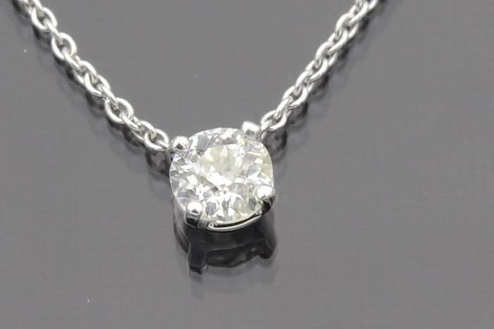 Collier diamants en or 18k