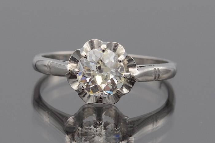 Bague diamant en or 18k