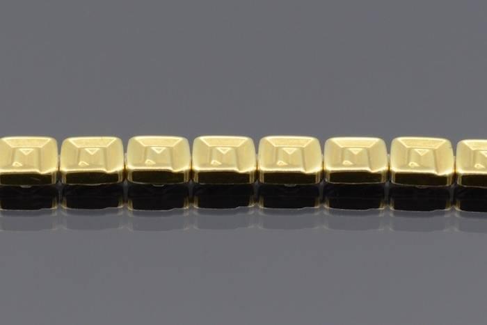 Collier carrés en or