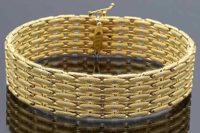 Bracelet d'occasion en or 18k