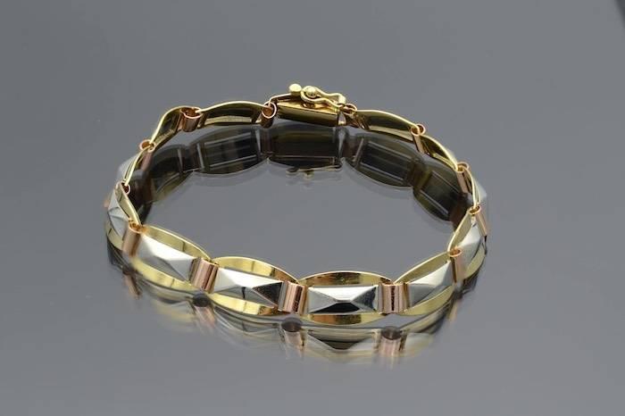 Bracelet ancien en or 18k