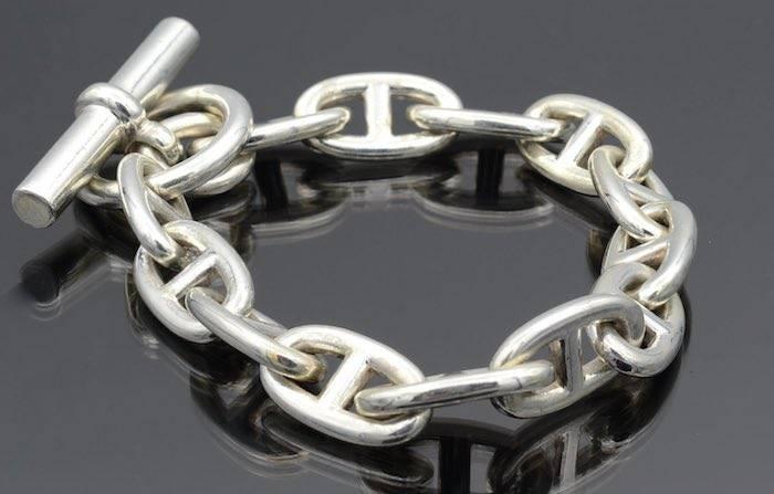Bracelet Hermes Chaîne d'ancre