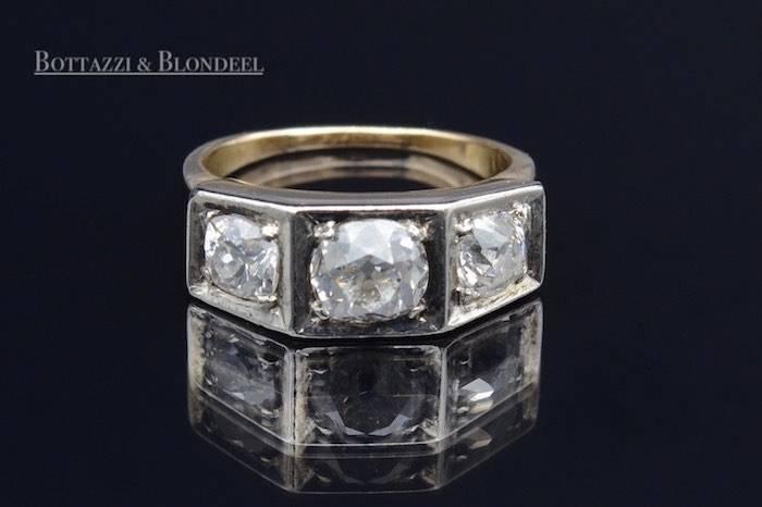 Bague 1940 diamants