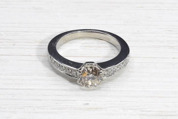 Bague diamant d'occasion