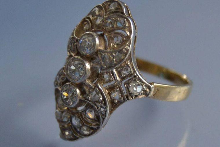 Bague platine diamant prix