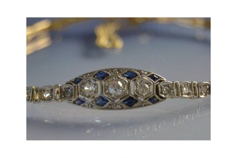 Bracelet diamant solitaire