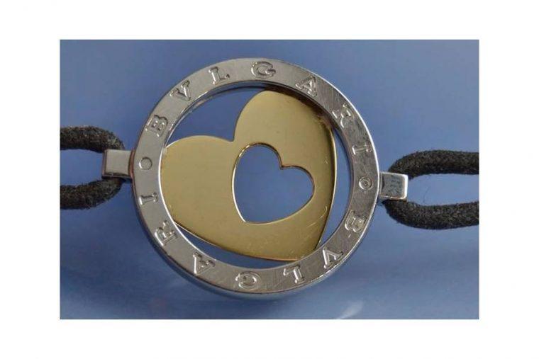Bracelet Bulgari cuir