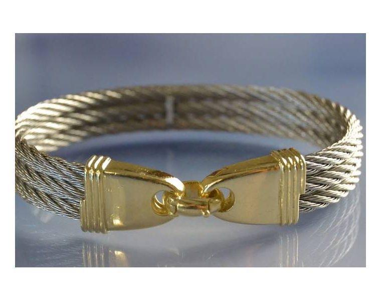 Bracelet acier pour homme