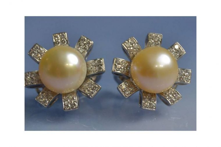 Boucles d'oreilles en perle