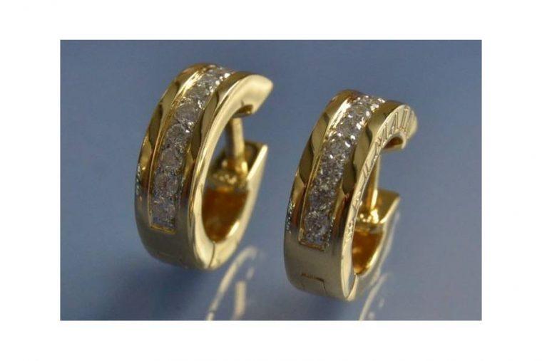 Boucle d'oreilles anneaux femme