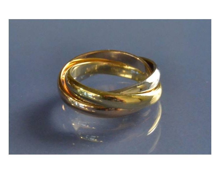 3 anneaux Cartier prix