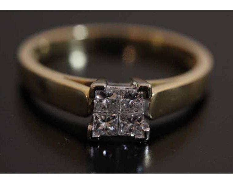 alliance deux ors diamant