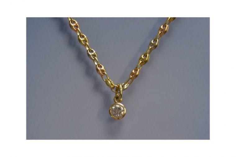 chaîne en or 18 carats