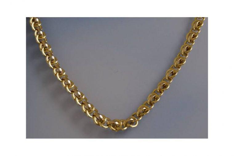 chaîne homme en or