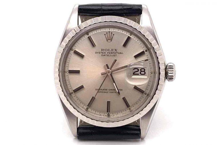 Rolex or rose bracelet caoutchouc