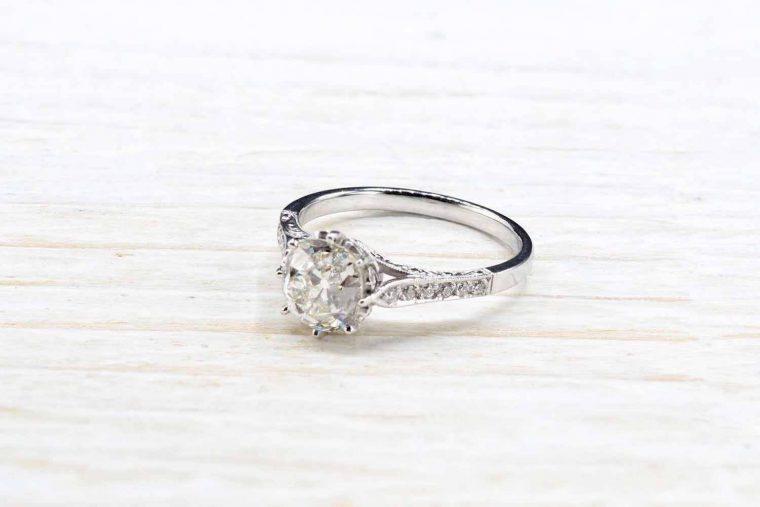 Solitaire diamant prix