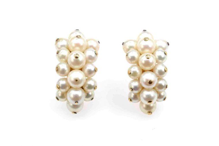 Bijoux boucle d oreille perle