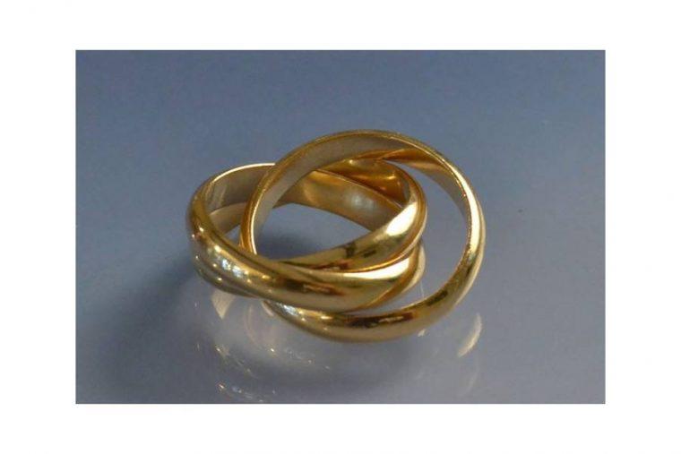 Les 3 anneaux Cartier