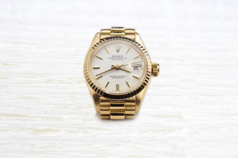 Rolex femme or