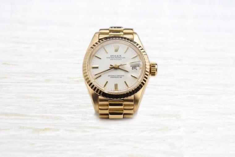Rolex or jaune