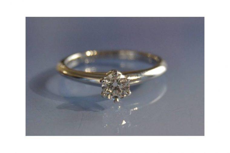 Alliance solitaire diamant
