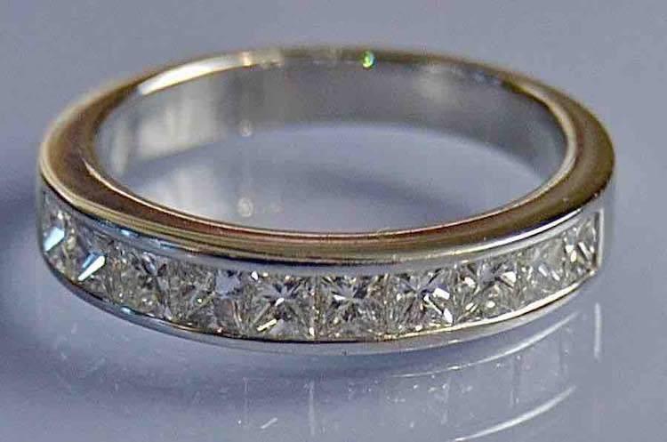 Bague diamant 0.75 carat