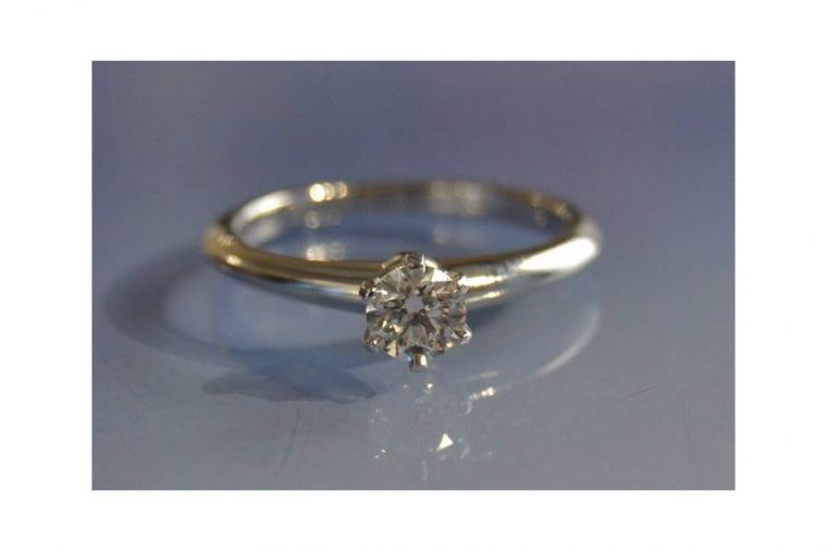 Bague de mariage Tiffany & co