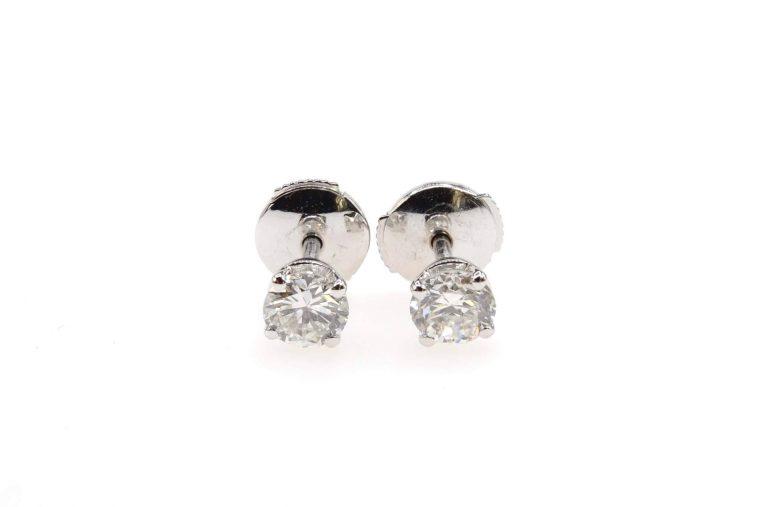 Diamant boucle oreille
