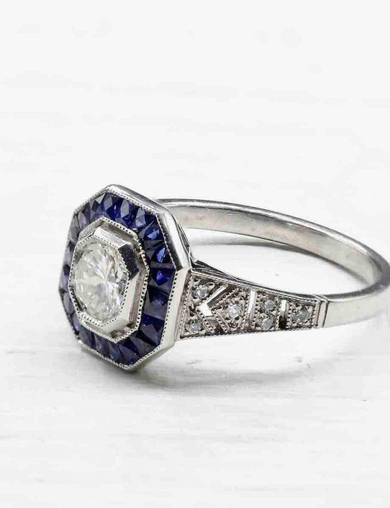 Alliance or noir diamant